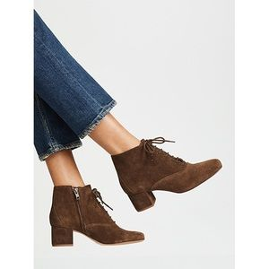 MADEWELL Macey Laceup boots size 7